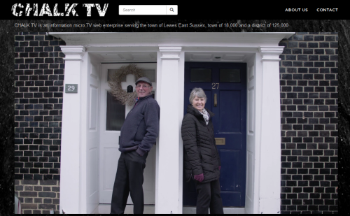 chalk tv shot Sun Street Lewes
