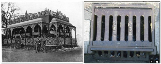 Every's Pavilion and drain cover