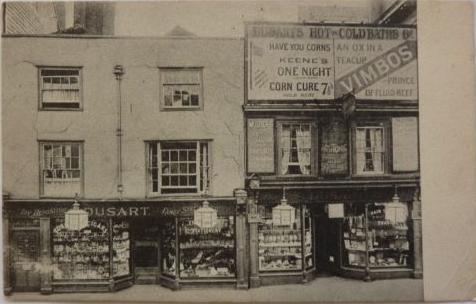 Dusart's High Street Lewes shop