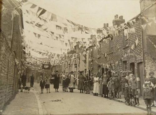 Celebration in Spring Gardens, Lewes