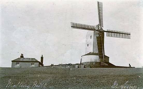 Malling Mill Cheetham postcard