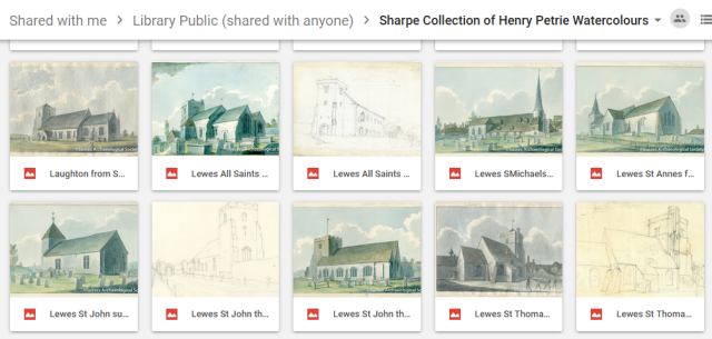 Sharpe Collection of Henry Petrie Watercolours