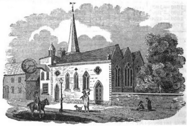 St Michael's Church engraving