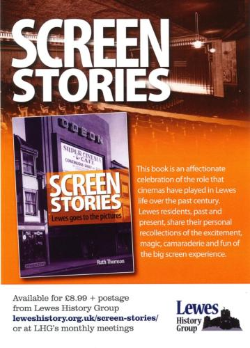 Screen Stores book poster