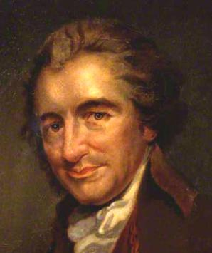 Tom Paine portrait by Auguste Millierre