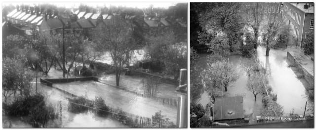 Photos of 1960 Lewes flood