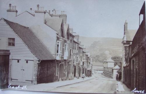 East Street Lewes Cheetham postcard