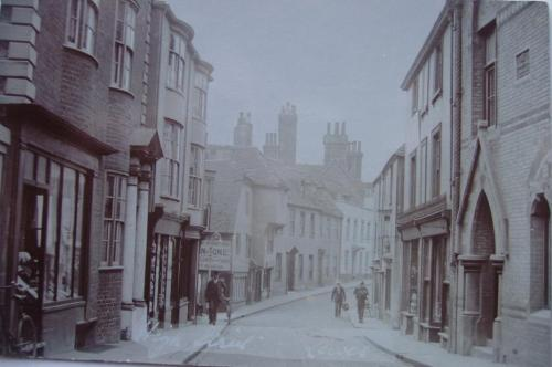 High Street Lewes postcard