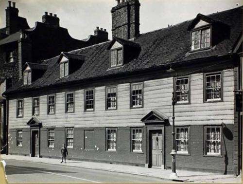 Malling Street building, Lewes, demolished late 1960's
