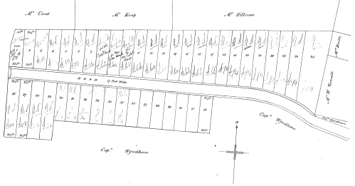 Sale particulars of freehold building land, Southover Priory Estate 1867
