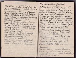 Winifred Martin's diary entry for January 1925