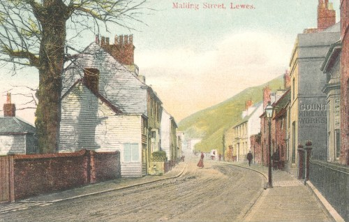 County Town Mineral Waters, Malling Street c.1900-1910 postcard