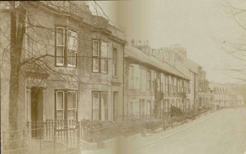 Grange Road in the early 20th Century
