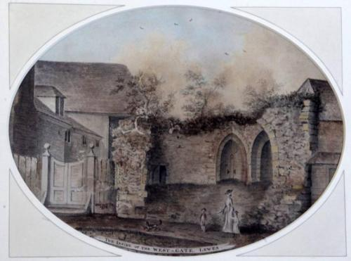 Inside the Westgate, Lewes James Lambert 1779