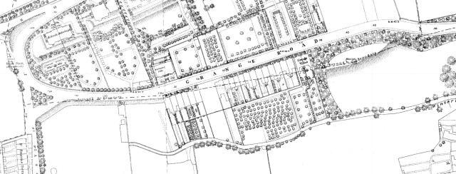 Map of Grange Road