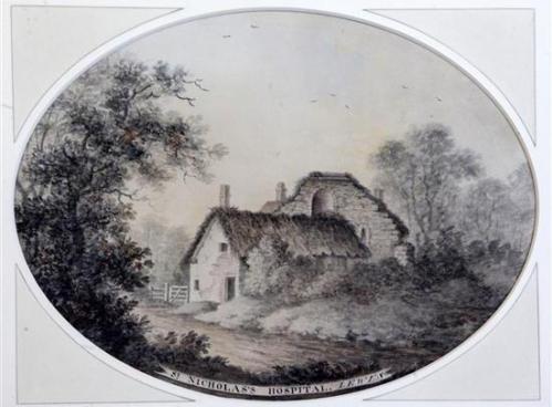 St Nicholas's Hospital Lewes James Lambert 1779