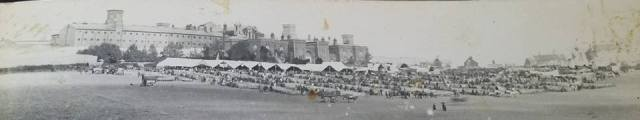 Sheep Fair in front of Lewes Prison