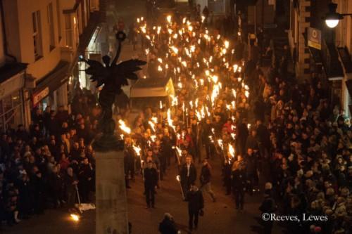 Lewes Remembers - copyright Reeves, Lewes