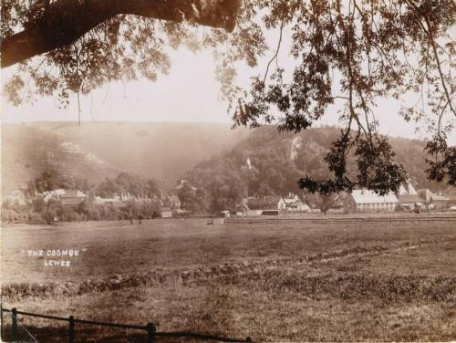 The Coombe, Lewes, postcard