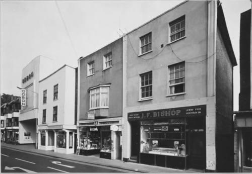 JF Bishop, Cliffe High Street, Lewes