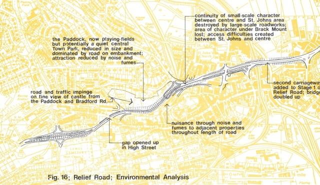 Lewes Inner Relief Road, environmental anaysis