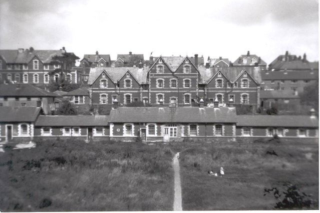 Lewes workhouse, from Albert 'Les' Scott, 1950s