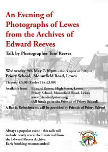Priory Talk on Reeves Archive Poster 2018 Revised