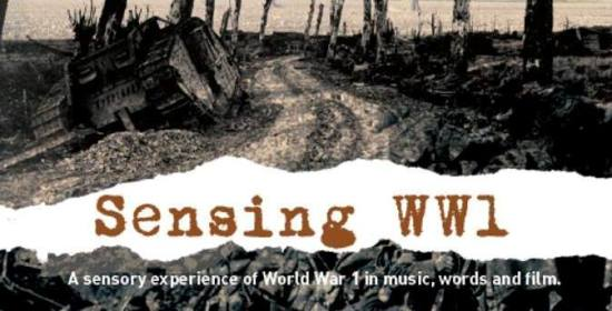 Sensing World War 1