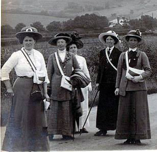 Women's vote - Stenlake talk to Friends of Lewes