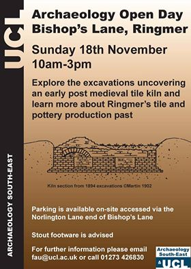 Archaeology open day, Ringmer