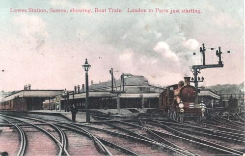 Lewes station c1905_John Hollands collection