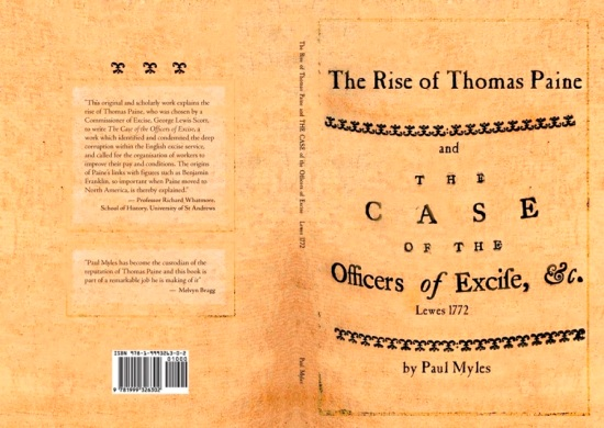 Myles - The Rise of Thomas Paine book cover