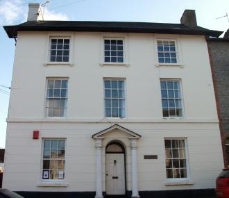 10. Milton House, (Abinger House, Abinger Place), Lewes