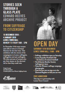 Reeves Suffrage Open Day flyer