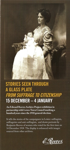 Suffrage to Citizenship leaflet