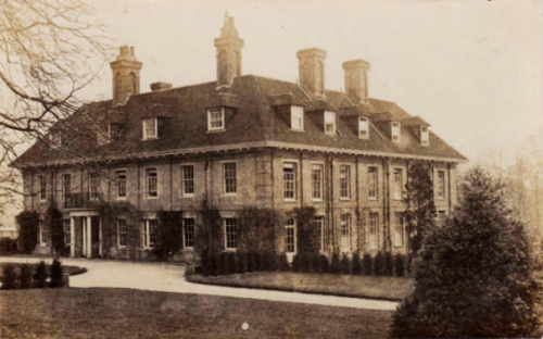 malling deanery postcard mailed 1914