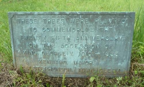 Tree plaque 1935