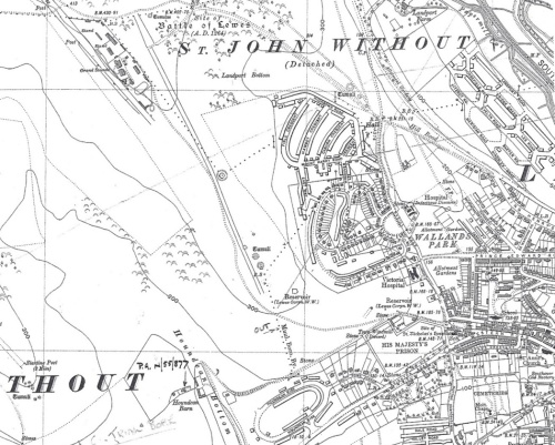 Ordnance Survey map 1938