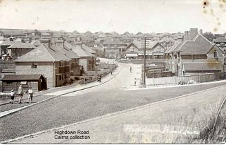 Highdown Road (Bob Cairns collection)