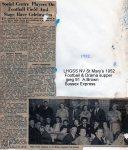 Lewes, Nevill 1952 Football, Drama supper
