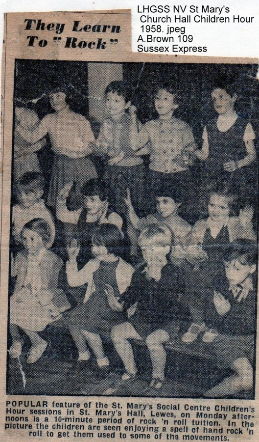 Lewes, Nevill 1958 St Mary's Church Hall Children Hour