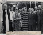 Lewes, Nevill 1962 April, St Mary's Social Centre 15 Opening Ceremony