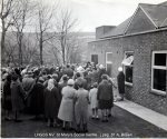 Lewes, Nevill 1962 April, St Mary's Social Centre 17 Opening ceremony