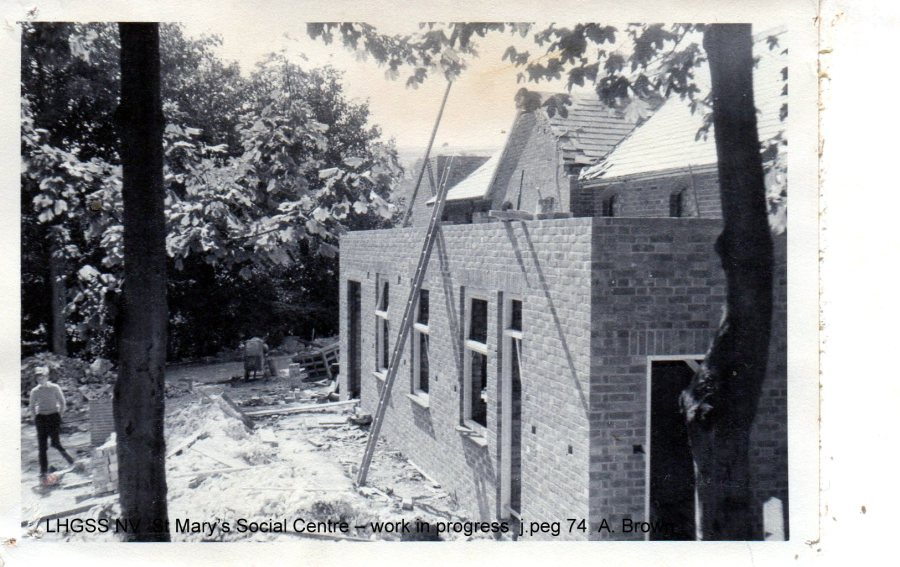Lewes, Nevill 1962 St Mary's Social Centre
