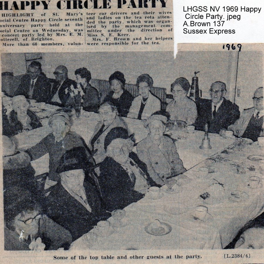 Lewes, Nevill 1969 Happy Circle Party