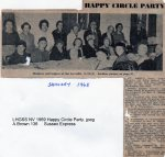 Lewes, Nevill 1969 January, Happy Circle Party