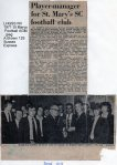 Lewes, Nevill 1971 St Mary's Football AGM