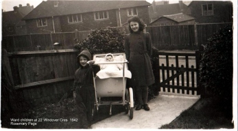 Lewes, Nevill, 22 Windover Crescent 1942 Ward children