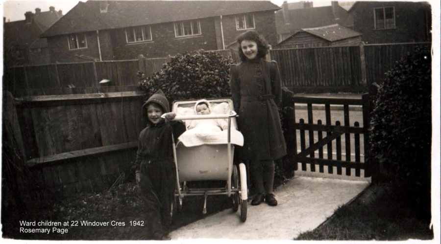 Lewes, Nevill, 22 Windover Crescent 1942 Ward children