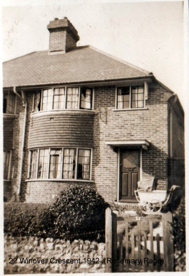 Lewes, Nevill, 22 Windover Crescent 1942